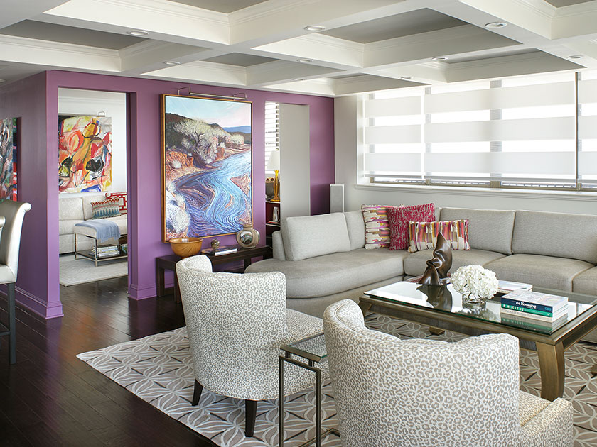 Colorful Contemporary Condo